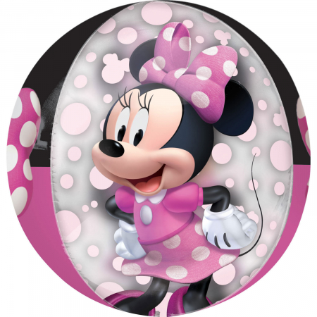 Balon Folie Orbz, Minnie Mouse Forever - 38x40 cm2