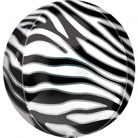 Balon Folie Orbz, Print Zebra - 41 cm [0]