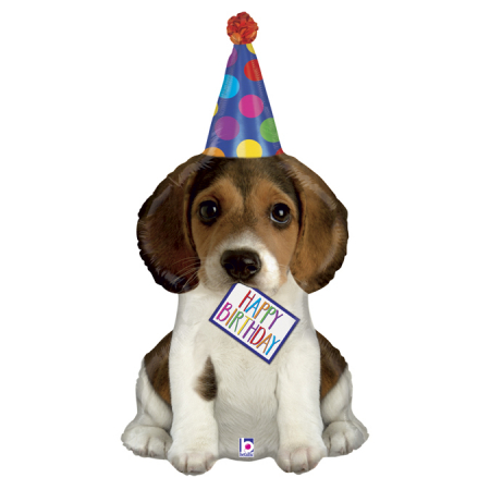 Balon Folie Happy Birthday Catelus - 104 cm