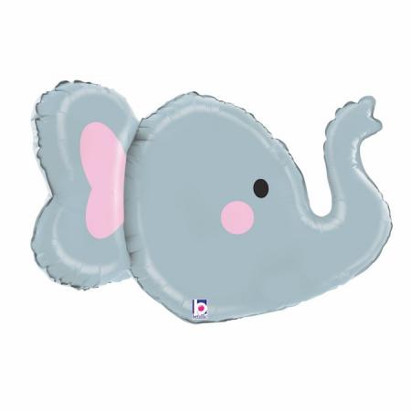 Balon Folie 3D Cap Elefant - 86 cm [1]