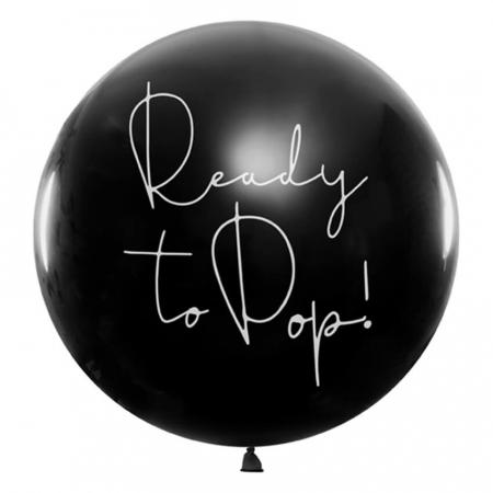 Balon cu Confetti Gender Reveal, Fetita - 100 cm0