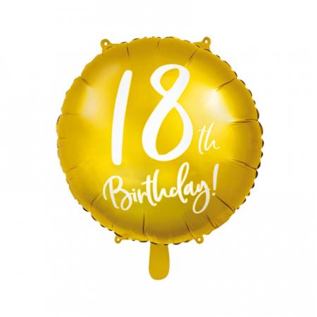 Balon Folie 18 ani - 45 cm5