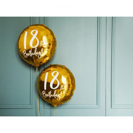Balon Folie 18 ani - 45 cm3