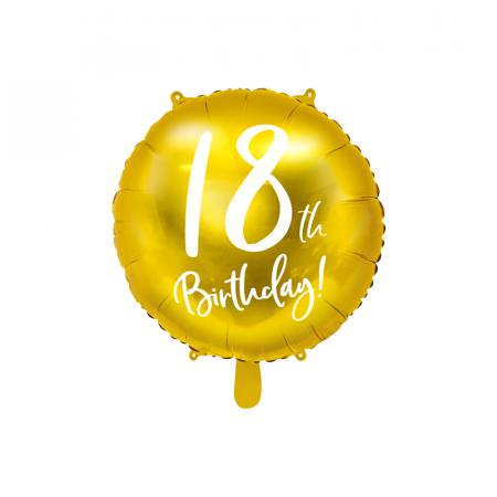 Balon Folie 18 ani - 45 cm0