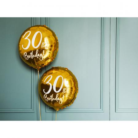Balon Folie 30 ani - 45 cm3