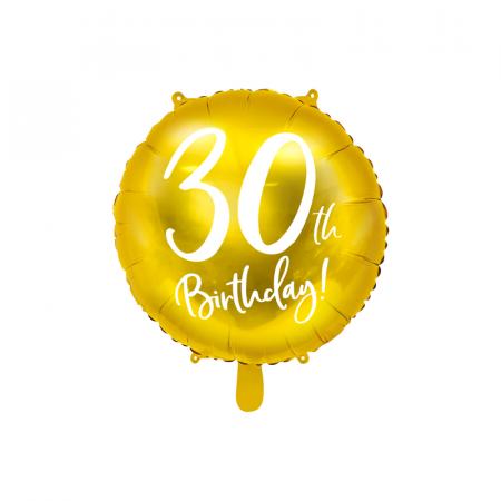 Balon Folie 30 ani - 45 cm0