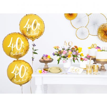 Balon Folie 40 ani - 45 cm2