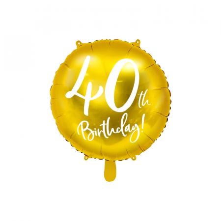 Balon Folie 40 ani - 45 cm0
