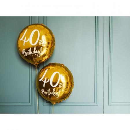 Balon Folie 40 ani - 45 cm3