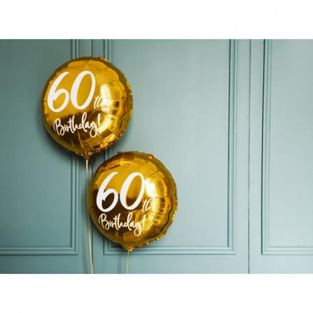 Balon Folie 60 ani - 45 cm3
