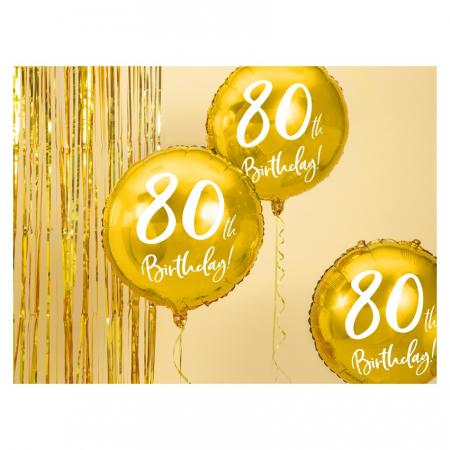 Balon Folie 80 ani - 45 cm6