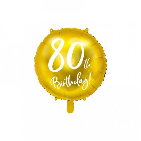 Balon Folie 80 ani - 45 cm7