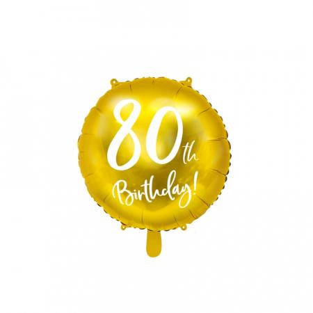 Balon Folie 80 ani - 45 cm8