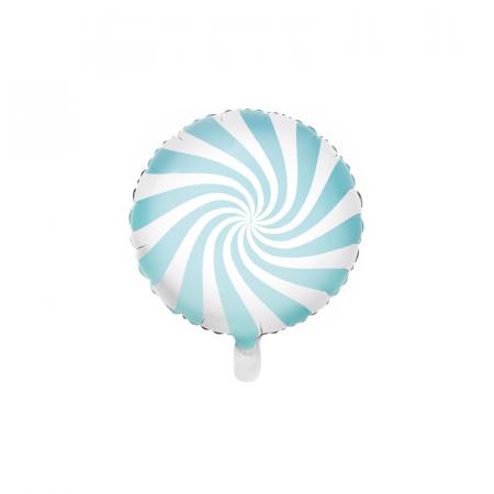 Balon Folie Acadea, Albastru - 45 cm0