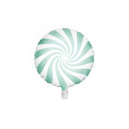 Balon Folie Acadea Verde 45 cm0