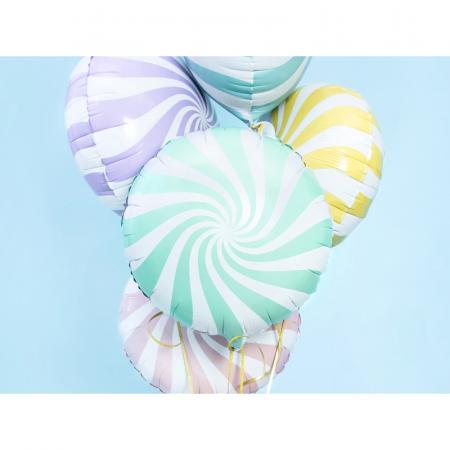 Balon Folie Acadea Verde 45 cm1