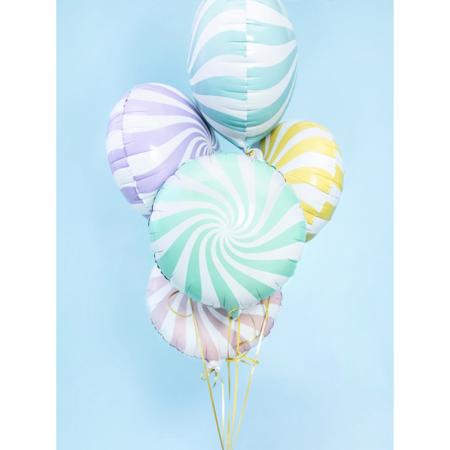 Balon Folie Acadea Verde 45 cm2