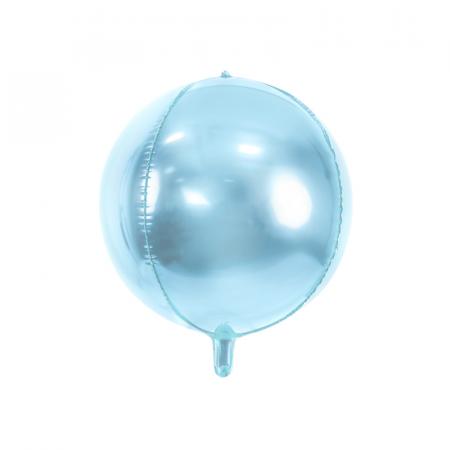 Balon Folie Albastru Deschis - 40 cm0