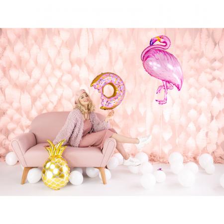 Balon Folie Ananas Auriu - 48x67 cm4