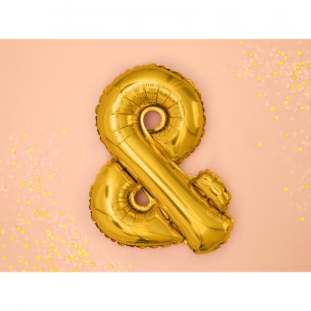 Balon Folie & Auriu, 35 cm [1]