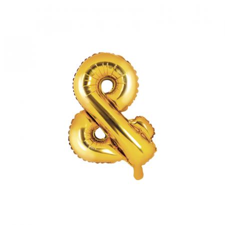 Balon Folie & Auriu, 35 cm [0]