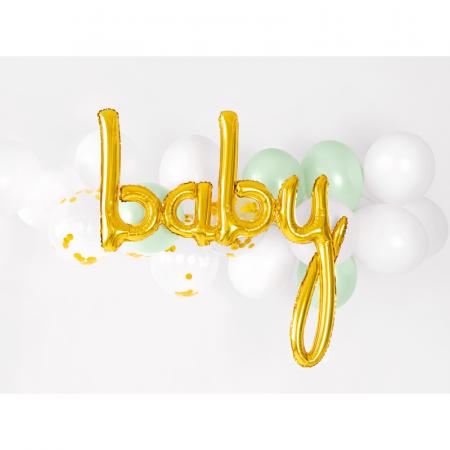 Balon Folie Baby, Auriu - 73.5 x 75.5 cm2