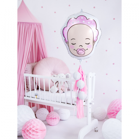 Balon Folie Baby Girl, 40x45cm3