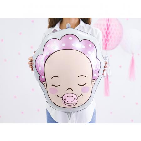 Balon Folie Baby Girl, 40x45cm1