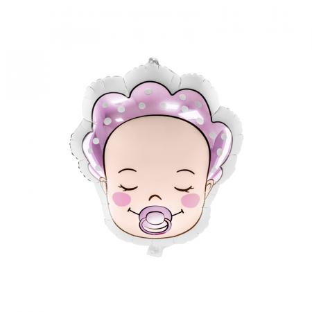 Balon Folie Baby Girl, 40x45cm0