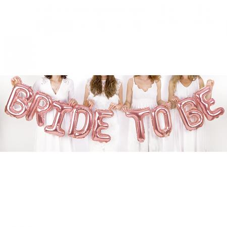 Balon Folie Bride To Be - 340x35 cm1