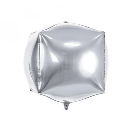 Balon Folie Cub, Argintiu - 35 cm0