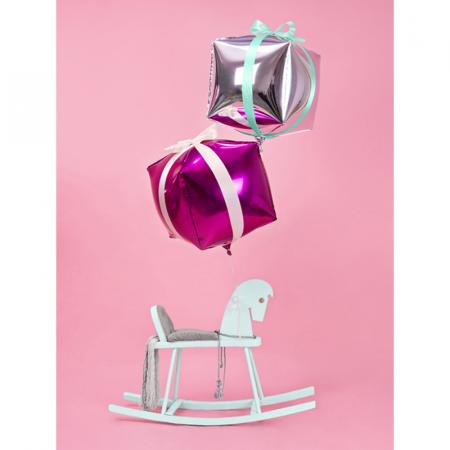 Balon Folie Cub, Argintiu - 35 cm3