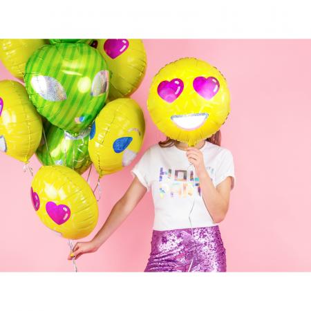 Balon Folie Emoji Love - 45 cm1
