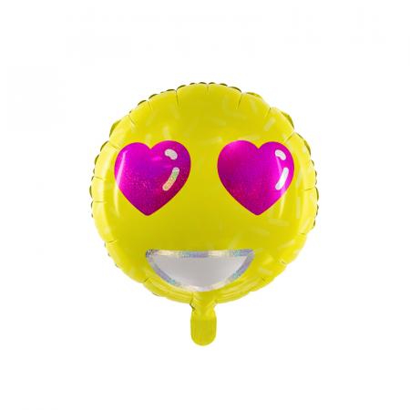 Balon Folie Emoji Love - 45 cm0