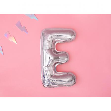 Balon Folie Litera E Holografic, 35 cm [1]