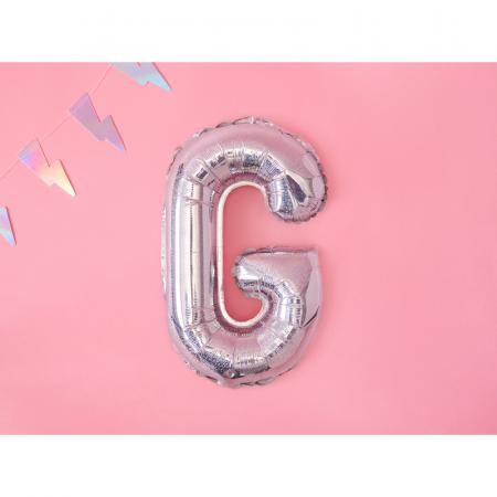 Balon Folie Litera G Holografic, 35 cm [1]
