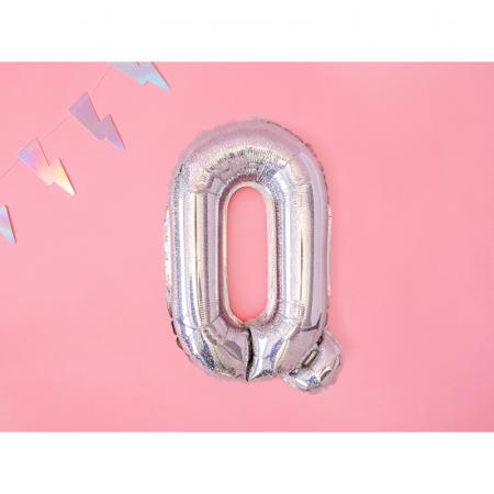 Balon Folie Litera Q Holografic, 35 cm1