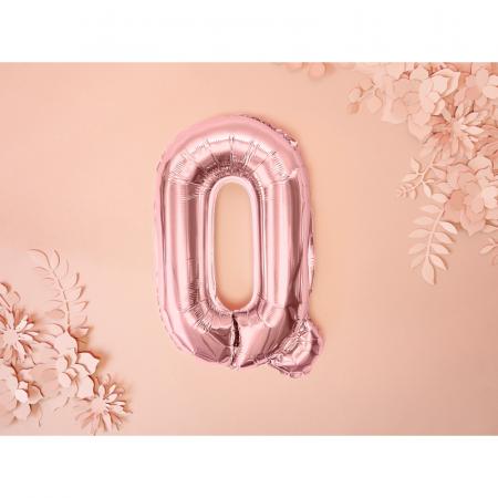 Balon Folie Litera Q Roz, 35 cm [1]