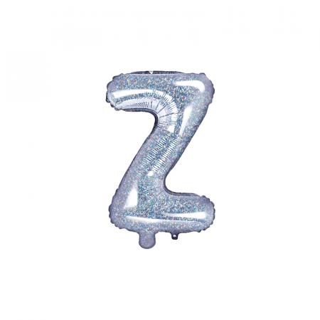 Balon Folie Litera Z Holografic, 35 cm0