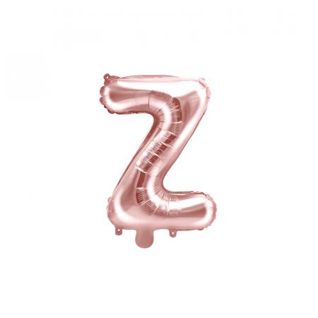 Balon Folie Litera Z Roz, 35 cm [0]