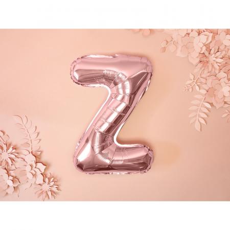 Balon Folie Litera Z Roz, 35 cm [1]