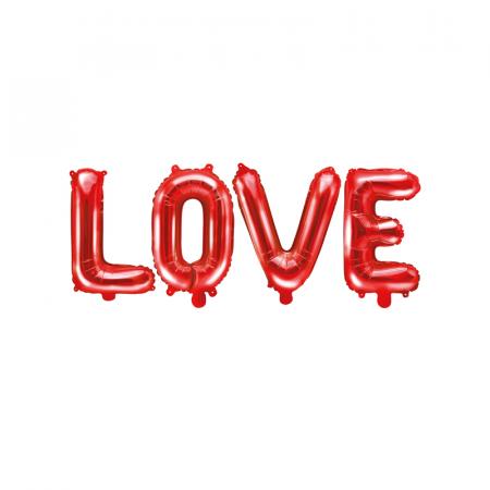 Balon Folie Love, Rosu - 140x35 cm [0]