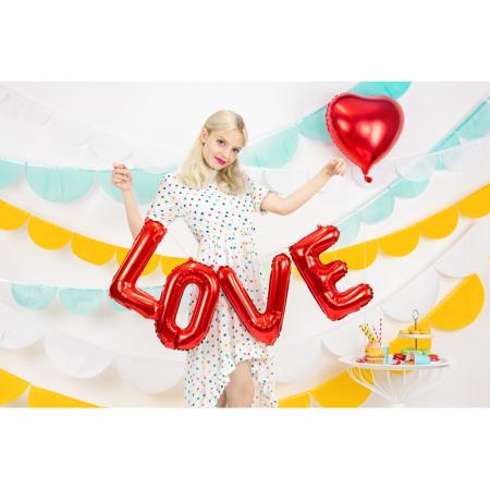 Balon Folie Love, Rosu - 140x35 cm [1]