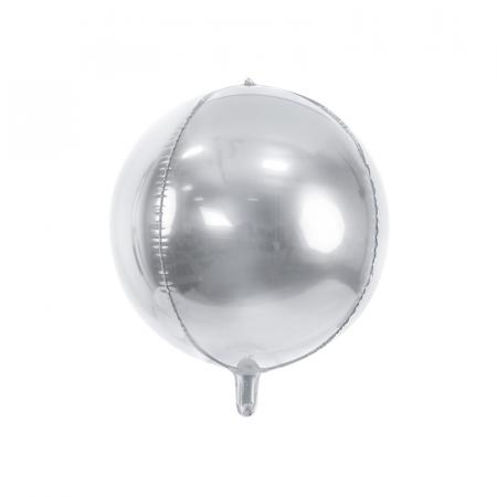 Balon Folie Sfera, Argintiu - 40 cm0