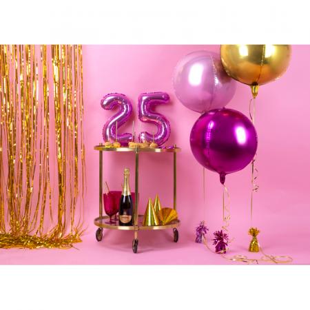 Balon Folie Sfera, Auriu - 40 cm [3]