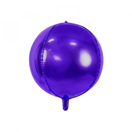 Balon Folie Sfera, Violet - 40 cm [0]