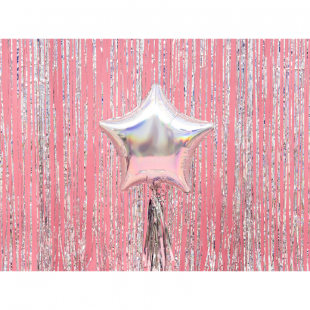 Balon Folie Stea, Iridescent - 48 cm1