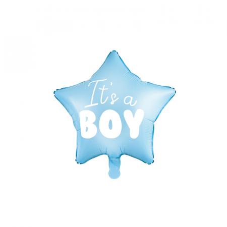 Balon Folie Stea, It's a Boy - 48 cm0