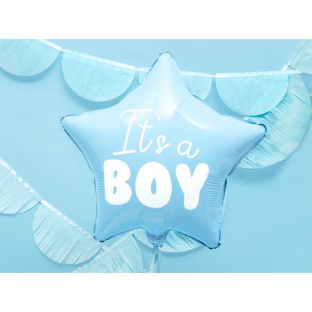 Balon Folie Stea, It's a Boy - 48 cm1