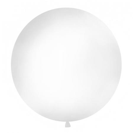 Balon Jumbo Alb - 100 cm [0]